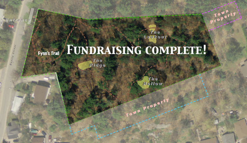 Treetops Community Forest reaches $200,000 Milestone