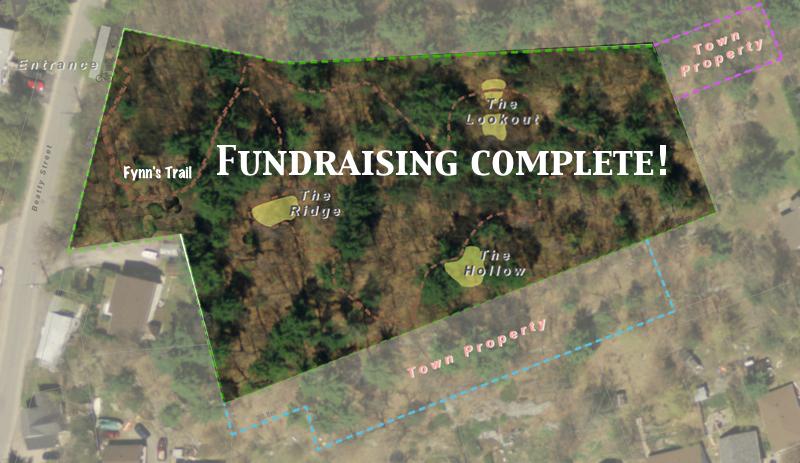 Treetops Community Forest reaches $200,000 Milestone